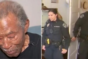 Cops Walk Into 92-year-old Veteran's Apartment And Detect Danger Straight Away